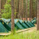 В палаточных лагерях Подмосковья введут дежурства пожарных