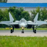 Истребитель Су-57 впервые покажут на статической экспозиции МАКС-2019