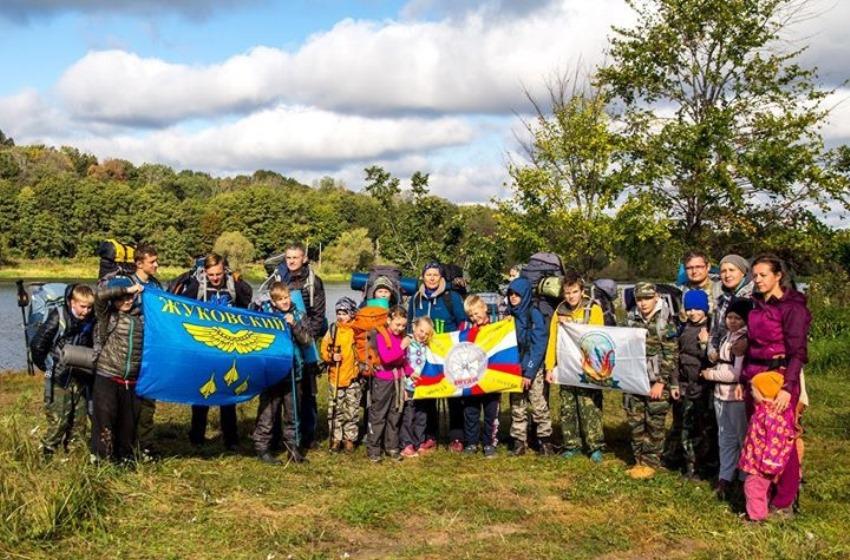 Воспитанники клуба  «Витязь» совершили поход от Совхоза до Жуковского через Малахово