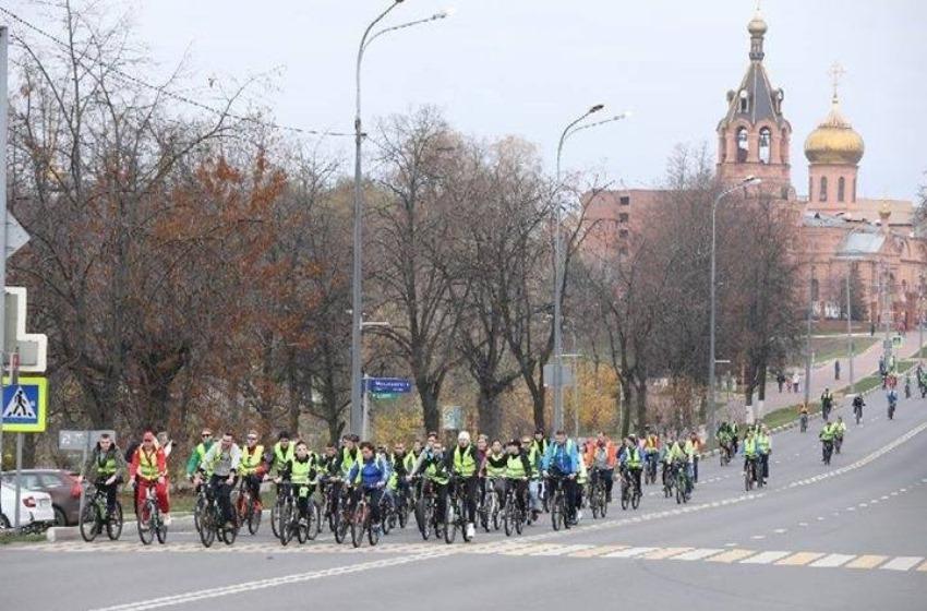 В Раменском прошел третий молодежный велопробег