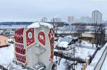 Дом-слон. Чудо архитектурной мысли.