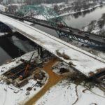 Мост через Москву-реку на трассе М-5 Урал готов на 65 %